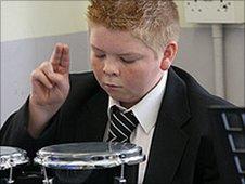School musician