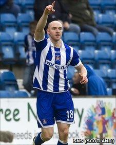 Kilmarnock striker Conor Sammon