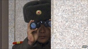 North Korean soldier - file photo