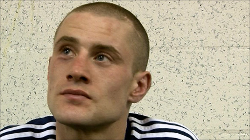 Scottish boxer Ricky Burns