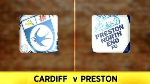 Cardiff 1-1 Preston