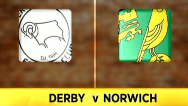 Derby 1-2 Norwich