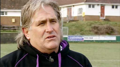 Ospreys head coach Scott Johnson