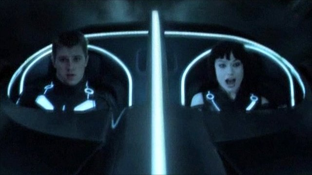 Still from Tron Legacy, courtesy of Disney