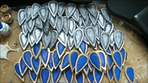 Armour scales, Hazel Cogan