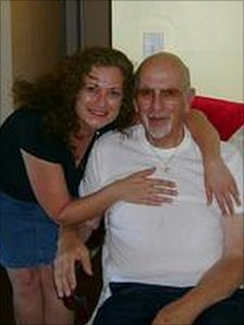 Theresa Iacovo and her father