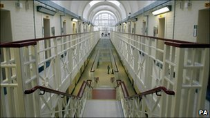 Interior of Wakefield prison