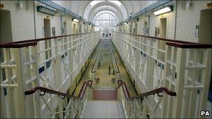 Interior of Wakefield prison