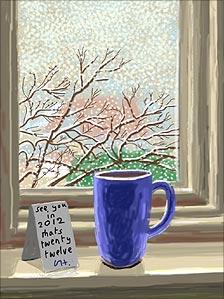 David Hockney artwork
