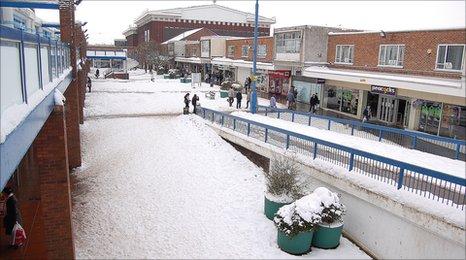 Newton Aycliffe town centre