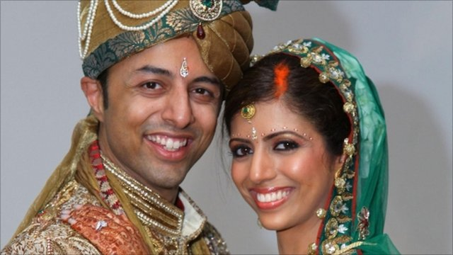 Shrien Dewani and Anni Dewani (right).