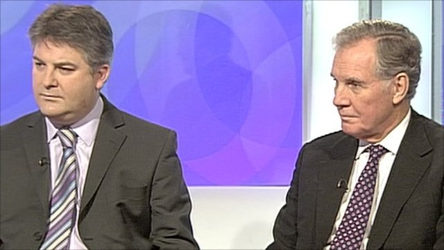 Philip Davies and Jonathan Aitken