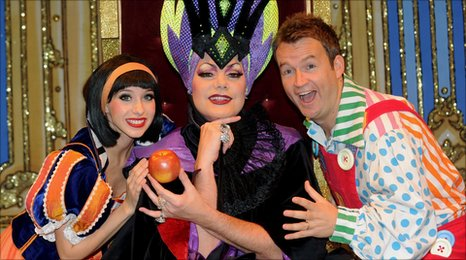 pantomimes in kent and sussex
