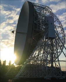 Jodrell Bank's Lovell Telescope