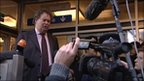 Wikileaks' lawyer Mark Stephens addresses journalists