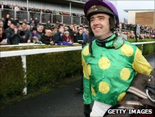 Ruby Walsh at Kempton