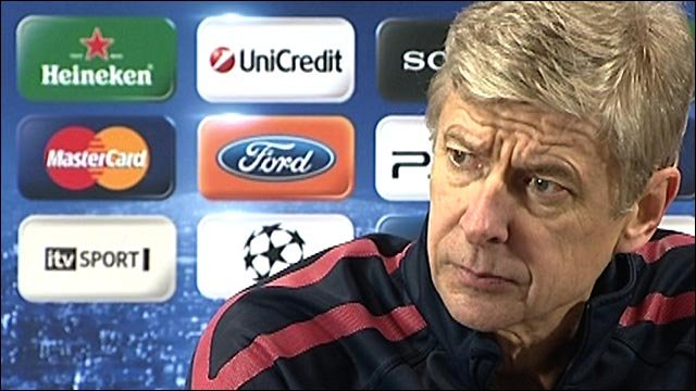 We are in 'tricky position' - Wenger