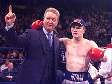 Frank Warren and Ricky Hatton