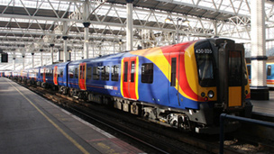 Stagecoach's UK rail division operations