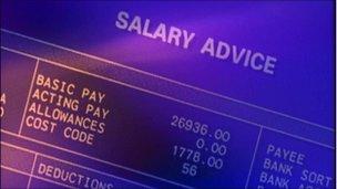 Salary paperwork