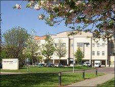 Royal United Hospital in Bath
