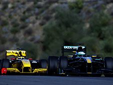 Renault and Lotus battling on track in 2010