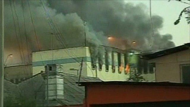 Chile prison fire