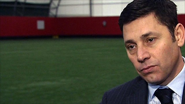 Southampton chairman Nicola Cortese