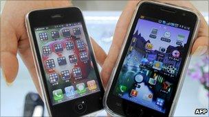 Mobile telephones