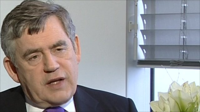 Former Prime Minister, Gordon Brown