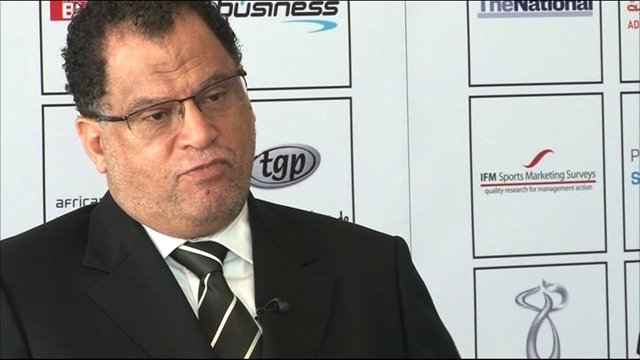 Chief executive of the 2010 World Cup Danny Jordaan