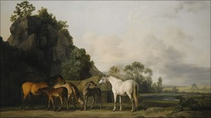 Brood Mares and Foals by George Stubbs