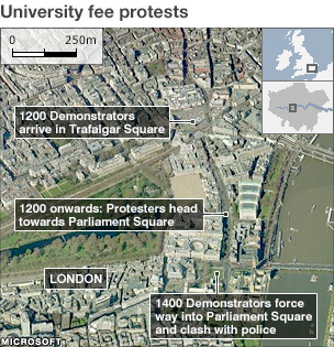 fee protest map