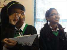 School Reporters at Alperton Community School in London
