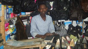 A trader in Eastleigh