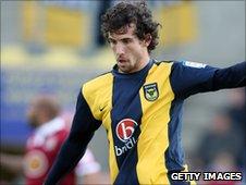 Oxford defender Jake Wright