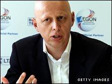 LTA player director Steven Martens