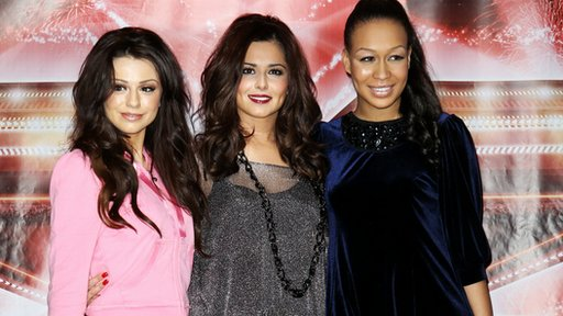 Cher Lloyd, Cheryl Cole and Rebecca Ferguson