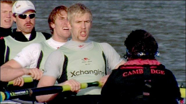 Oxford and Cambridge both hold races on the River Thames, both pitting their top 16 rowers, in key selection trials for the Boat Race next March
