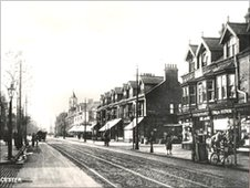 Narborough Road in the early 1900s