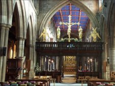 Wakefield Cathedral interior