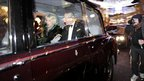 The car carrying Prince Charles and the Duchess of Cornwall is attacked in central London