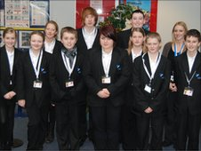 Young journalists at Freebourough Academy, in Redcar and Cleveland