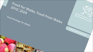Food for Wales strategy