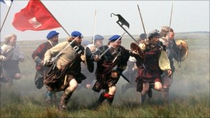 Culloden re-enactment