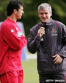 Gary Speed and Mark Hughes