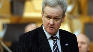 Former Scots Transport Secretary Stewart Stevenson