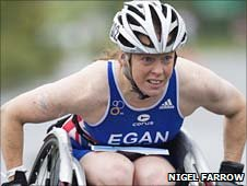 Triathlete Jane Egan. Pic: www.nigelfarrow.com.
