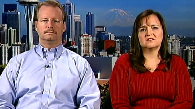 Curt Knox and Edda Mellas, Amanda Knox's parents