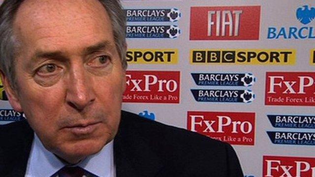 Aston Villa boss Gerard Houllier